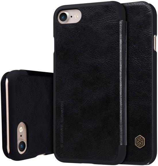 GSMWise - Apple iPhone 7 / 8 - PU Lederen Flip Case met Kaarthouder - Zwart in Biezelinge