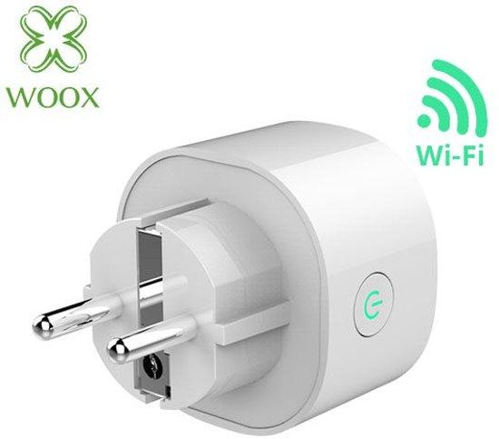 Woox Smart plug slimme stekker smal 16A