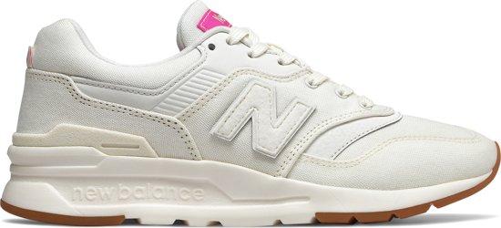 New Balance 997H Sneakers - Maat 40 - Vrouwen - wit/roze