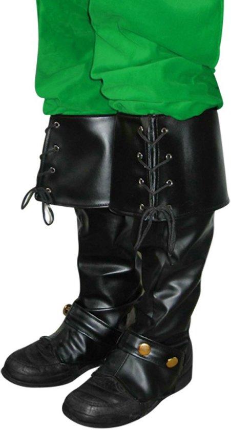 Musketier / Kerstman laarzen luxe
