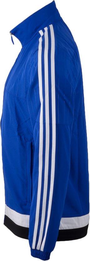 4405d924898 bol.com | adidas Tiro 15 Pre Suit - Trainingspak - Heren - Maat L - Blauw/ Wit/Zwart