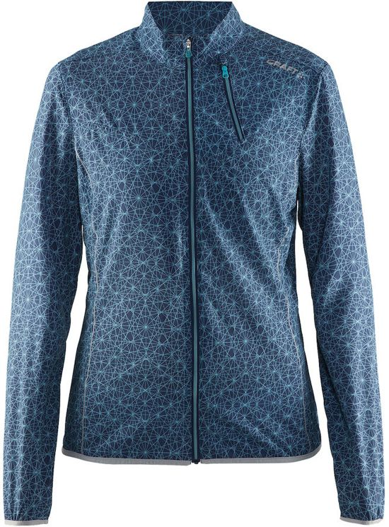 Craft mind jacket w - Hardloopjas - Dames - P Wire Sea - S