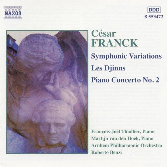 Franck: Symphonic Variations, Piano Concerto no 2 etc / Benzi et al
