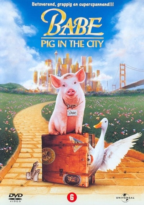 DVD cover van Babe 2 - Pig In The City