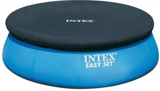 Intex Afdekzeil Easy Set Pool Donker Blauw 244 Cm