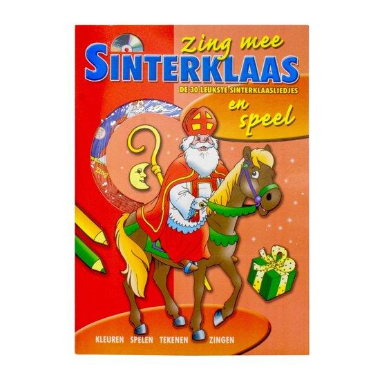 Vdm Sint speel/zingboek + cd