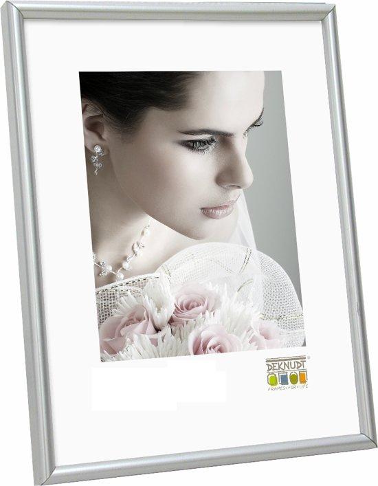 bol.com | Deknudt S011D1 20x30 kunststof mat zilver