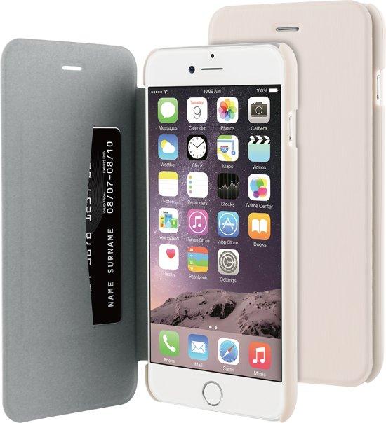 BeHello iPhone 6 Plus/6S Plus Flip Cover Beige in Elst