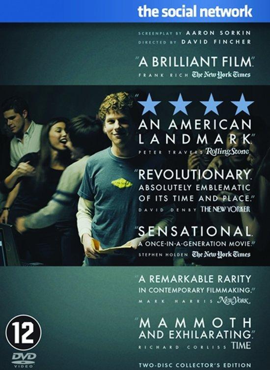 DVD cover van Social Network