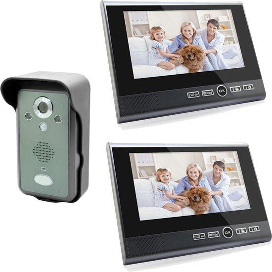 Draadloze Deurbel Met Camera.Bol Com Draadloze Camera Deurbel Met Intercom En 2 X 7