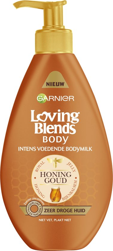 Garnier Loving Blends Body Honinggoud -250ml- Bodymilk