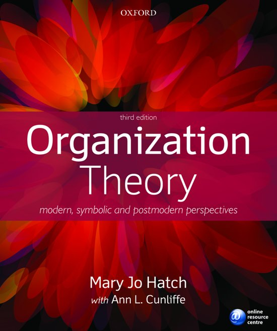 Organization Theory : Modern, Symbolic, and Postmodern Perspectives