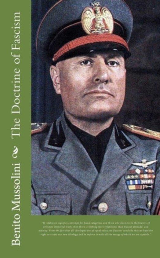 Boek cover The Doctrine of Fascism van Benito Mussolini (Paperback)