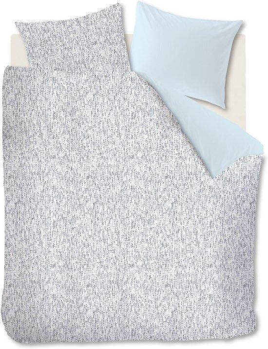 Ambiante Folke - Dekbedovertrek - Lits-jumeaux - 240x200/220 cm - Blauw