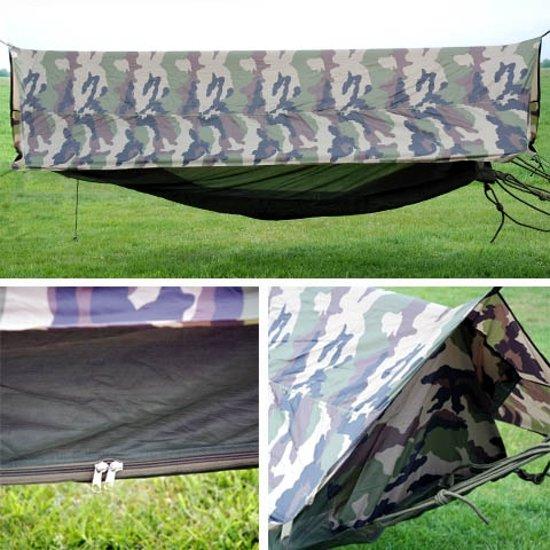 Hangmat professioneel met klamboe en tent