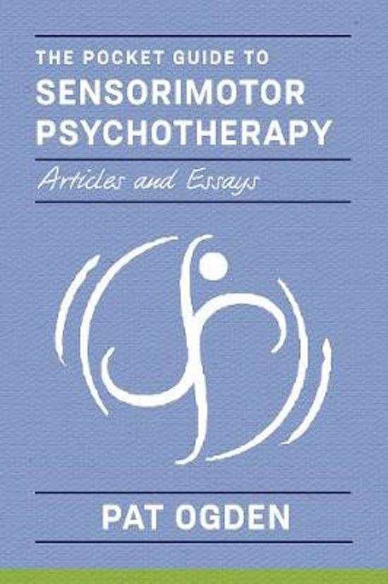 Boek cover Pocket Guide to Sensorimotor Psychotherapy van Pat Ogden (Paperback)