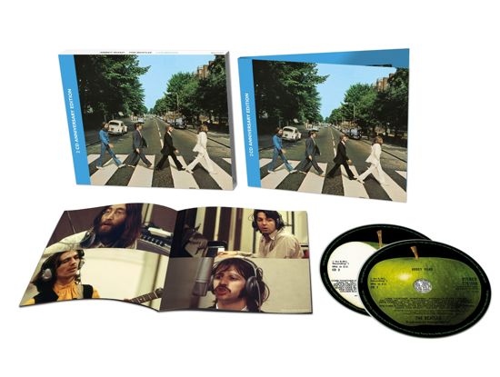 CD cover van Abbey Road 50th Anniversary Edition (2CD) van The Beatles