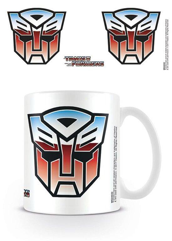 Bol Transformers G1 Autobot Symbol Mok