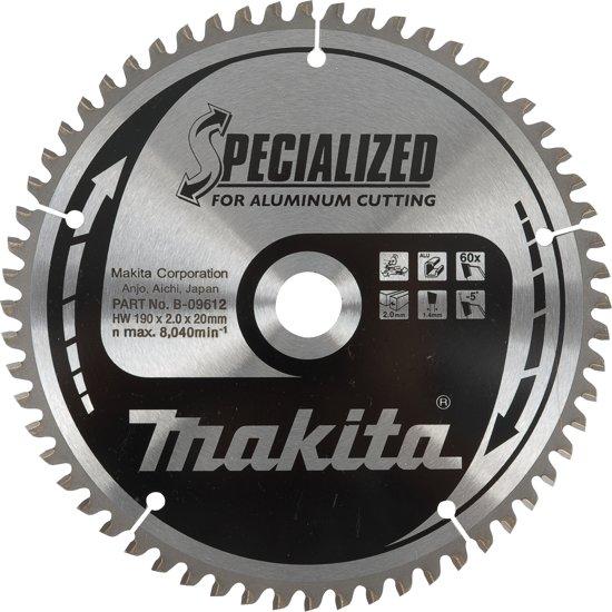 Makita Zaagblad 260x30 80T alu B-09656