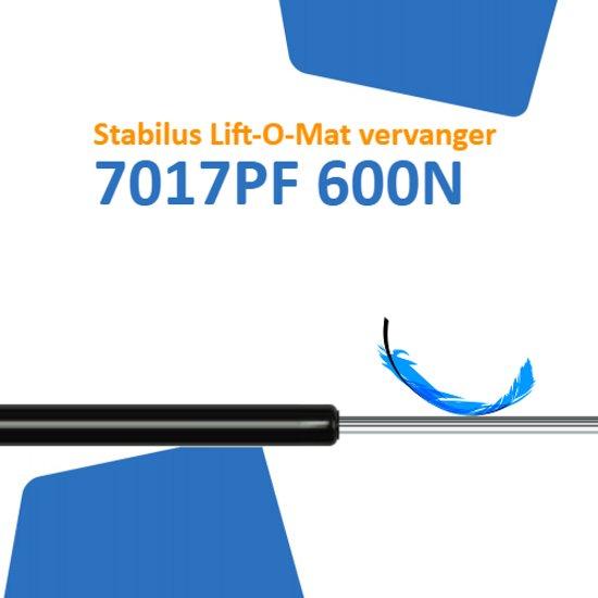 Vervanger voor Stabilus Lift-O-Mat 7017PF 0600N gasveer