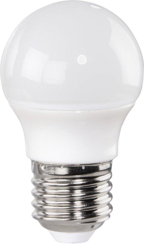Xavax Ledlamp, E27, 530lm vervangt 43W, druppellamp, daglicht