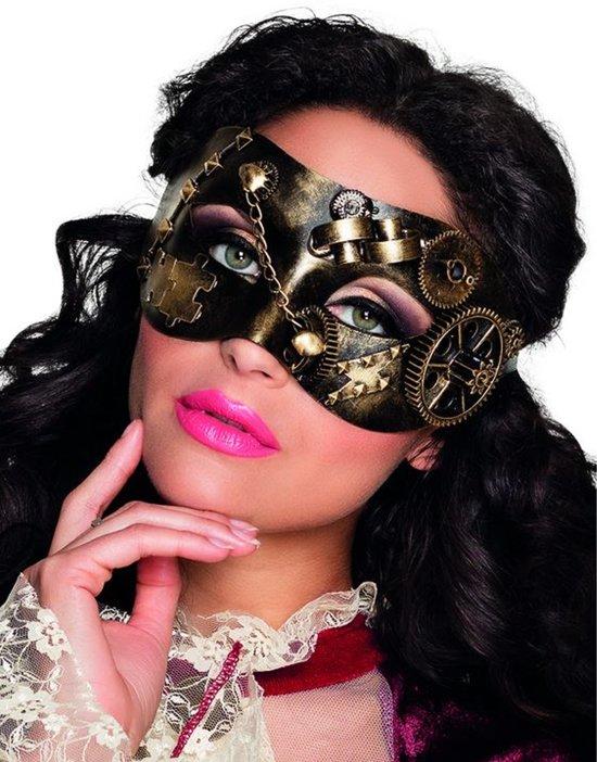 Steampunk oogmasker voor dames - Verkleedmasker