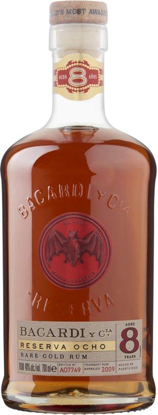 Bacardi Reserva Ocho Rum 8 Year - 70 cl