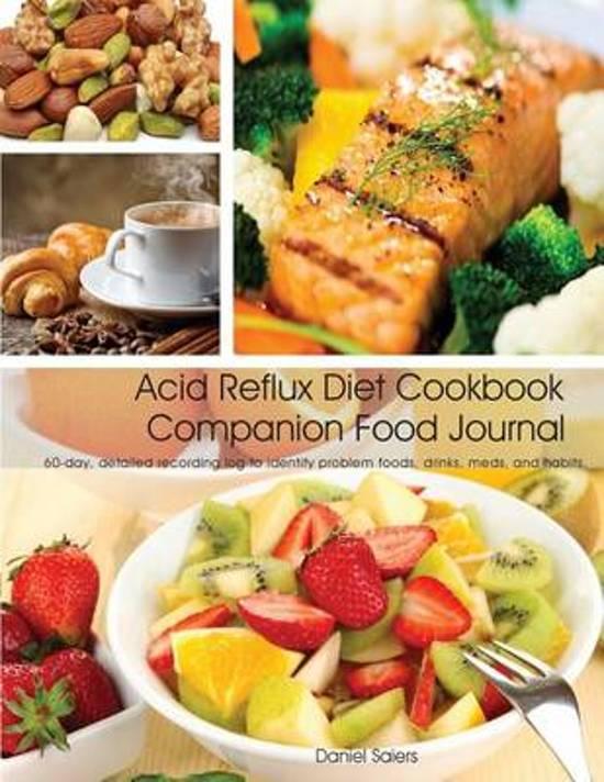 bol com | Acid Reflux Diet Cookbook Companion Food Journal