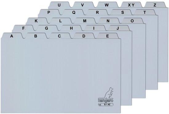 Tabkaarten Basic A-Z  8x13cm