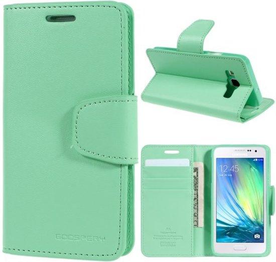 Goospery Sonata Dairy wallet case hoesje Samsung Galaxy A3 2015 mint