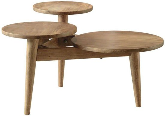 Salontafel Scandinavisch Design : Bol davidi design trippel salontafel