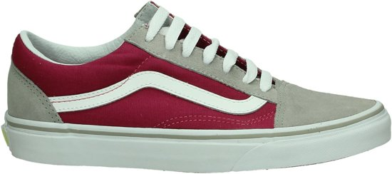 vans old school dames rood
