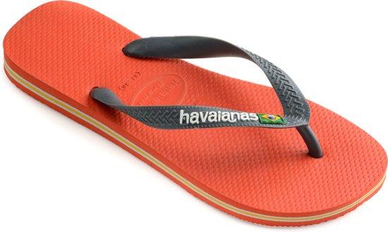 echte schoenen Britse beschikbaarheid geen verkoopbelasting bol.com | Havaianas Brasil Logo Slippers - Unisex donker ...
