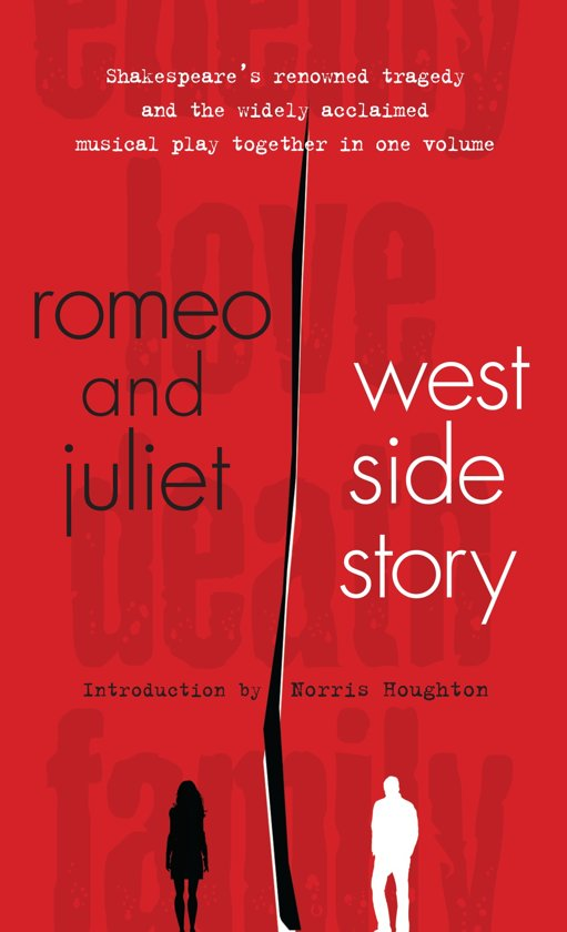 contradicting romeo juliet to west