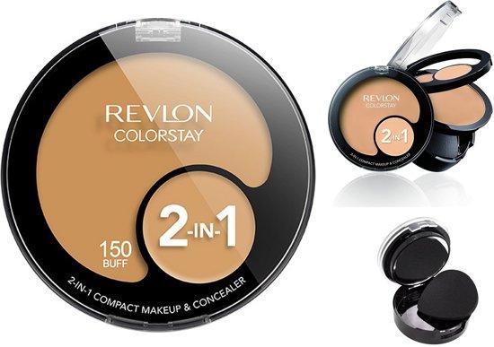 100% hoge kwaliteit authentieke kwaliteit order bol.com   Revlon ColorStay 2-in-1 Compact Makeup & Concealer ...