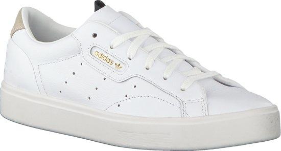 Adidas Dames Sneakers Sleek W Wit Maat 38