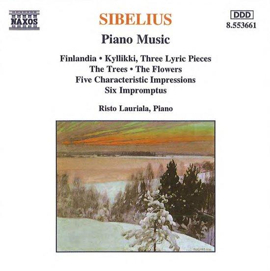 Sibelius: Piano Music / Risto Lauriala