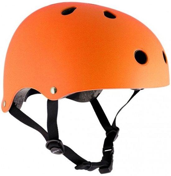 Sfr Skatehelm Essentials Mat Oranje Maat 53/56 Cm
