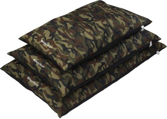 Happy-House Hondenkussen Camouflage - Maat: S  92x60cm