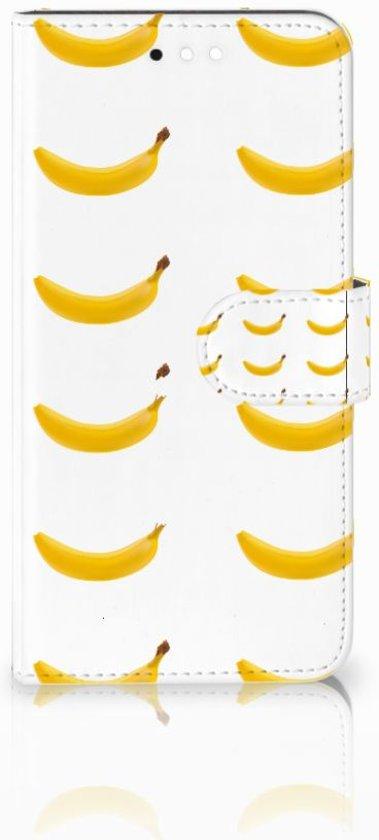 Huawei Y6 2018 Uniek Boekhoesje Banana