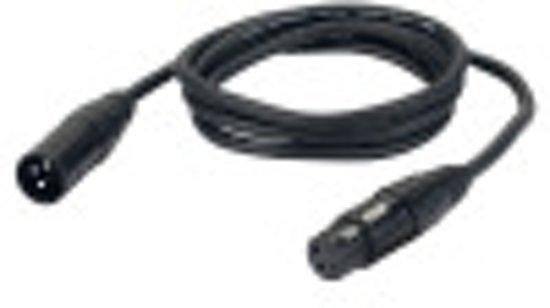 DAP-Audio FL016 XLR Microfoonkabel 6 Meter Zwart