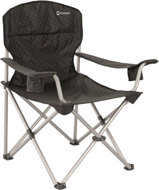 Outwell Catamarca XL Campingstoel - Black/silver