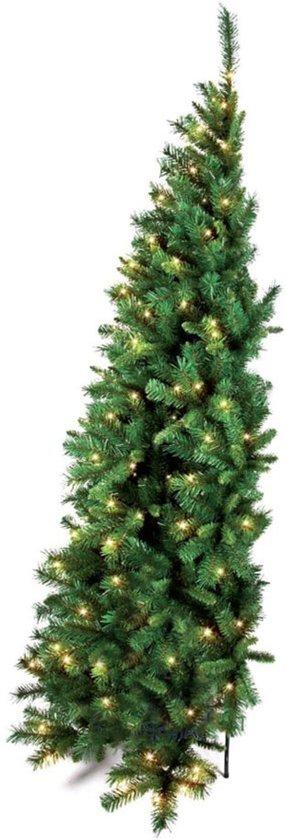 bol.com | Halve kunstkerstboom Dakota 150 cm met warm LED ...