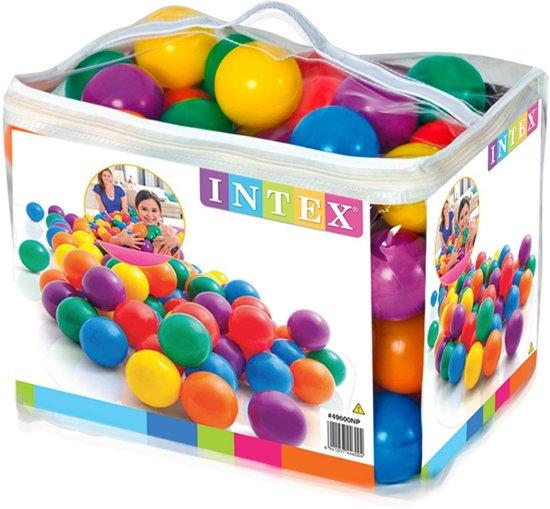 Intex 49600NP - Ballenbak ballen 8cm (100 stuks)
