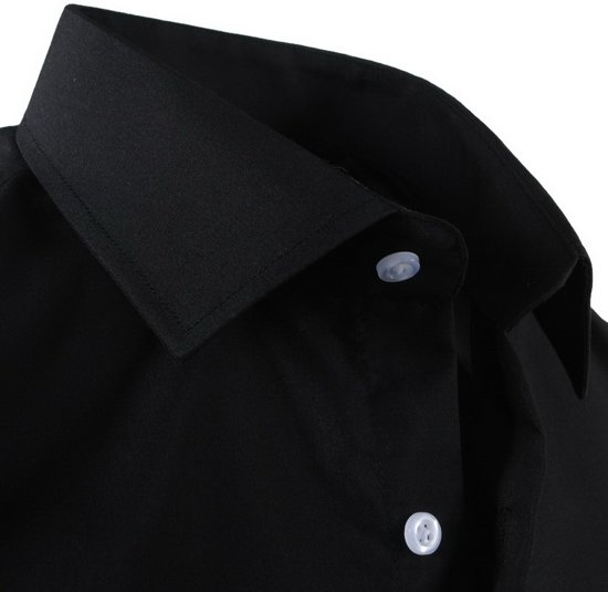 Heren Overhemd Zwart.Pradz Heren Overhemd Zwart Pradz Overhemd Pradz Heren Zwart 1hw4xx