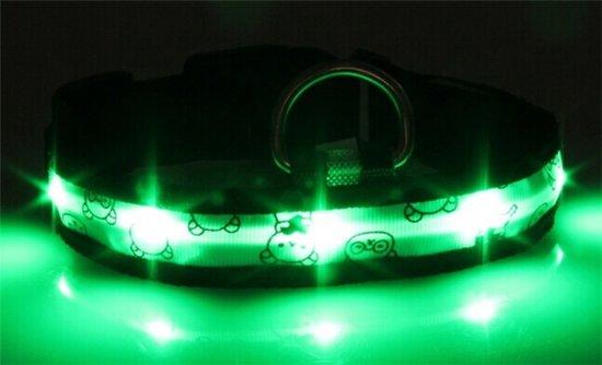 Groen Led Licht : Bol led licht honden halsband groen m standen