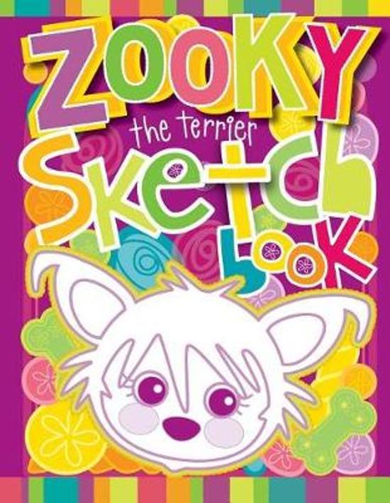 Zooky the Terrier Sketch Book