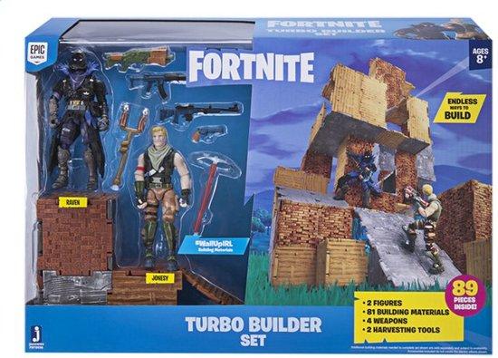 Afbeelding van Fortnite Turbo Builder set met Jonesy en Raven - Speelfigurenset speelgoed