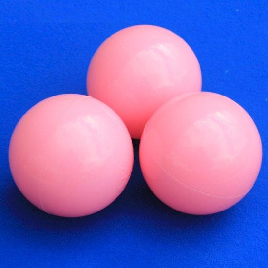 Ballenbakballen 70mm Baby Roze - 1000 stuks
