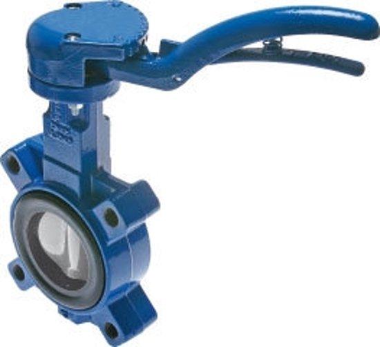 DN150 PN6 Lug Vlinderklep GG25-RVS-EPDM - BFLL-150-6-ABA